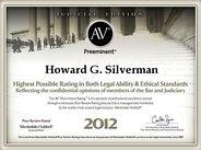 Martindale-Hubble Award 2012