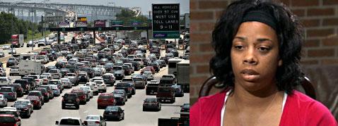 woman survives bridge accident