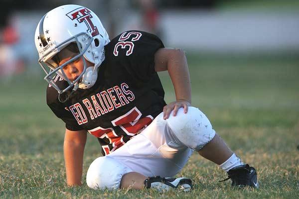 brain injury while playing football