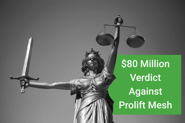 pennsylvania jury awards woman $80 million against prolift mesh