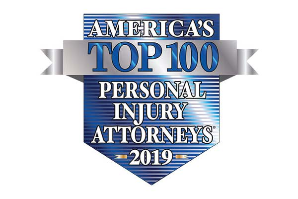 America's Top 100 Personal Injury Attorneys 2019