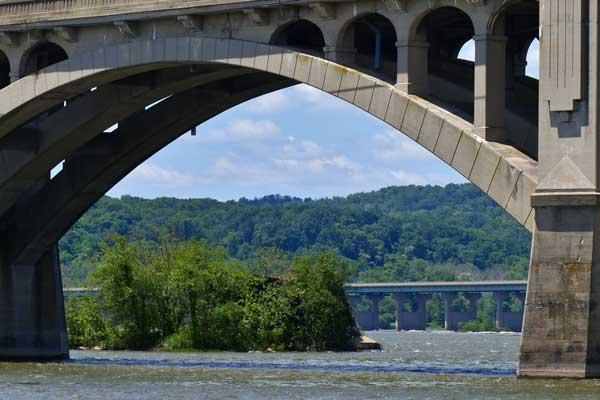 lancaster county locations - bridge over susquehanna river