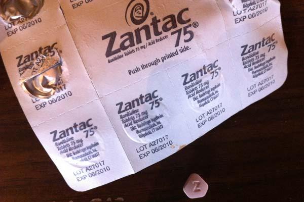 zantac pills recall