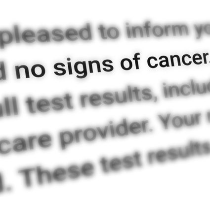 no signs of cancer - medical malpractice cover-up